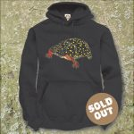 Turtles Model 16B Clemmys gutttata, Sold Out, Hooded Sweater, black