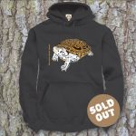 Turtles Model 8B, Malaclemys terrapin terrapin, Sold Out, black Hooded Sweater