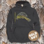 Turtles Model 9B, Emys orbicularis fritzjuergenobsti, Sold Out, black Hooded Sweater