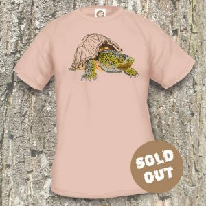 Turtles Model 15B Sternotherus carinatus Sold Out, sand coloured T-shirt