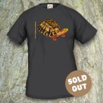 Turtles Model 7A, Cuora galbinifrons, Sold Out, black T-shirt