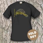 Turtles Model 9A, Emys orbicularis fritzjuergenobsti, Sold Out, black T-shirt