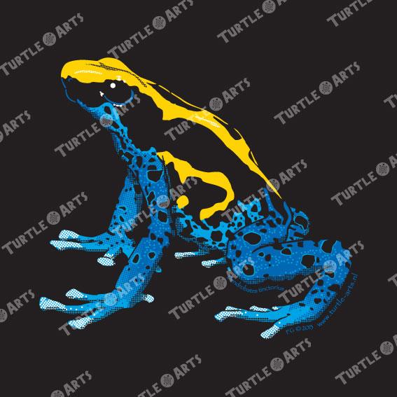Frogs/Toads Model 1, Dendrobates tinctorius tinctorius, ARTWORK